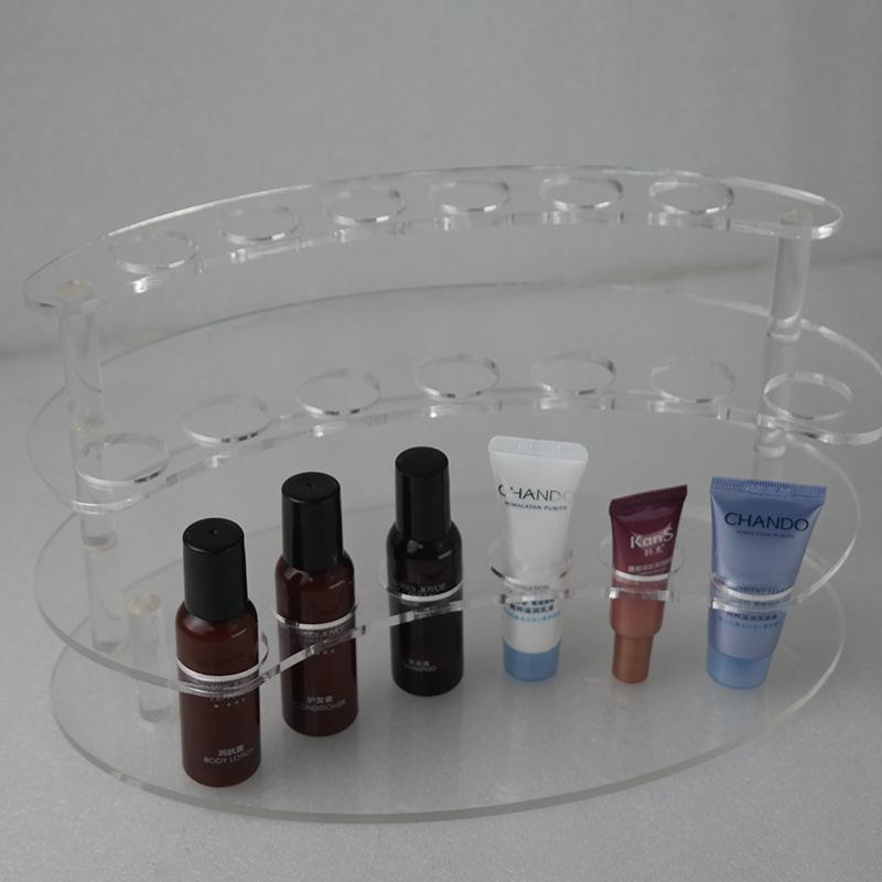 透明三層化妝品展架