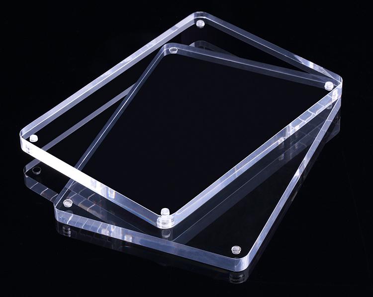 透明亞加力膠磁石相架