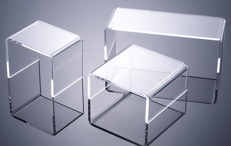 透明亞加力膠橋型產品托架