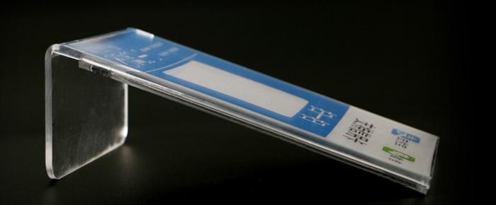 亞加力L型攝紙展示架