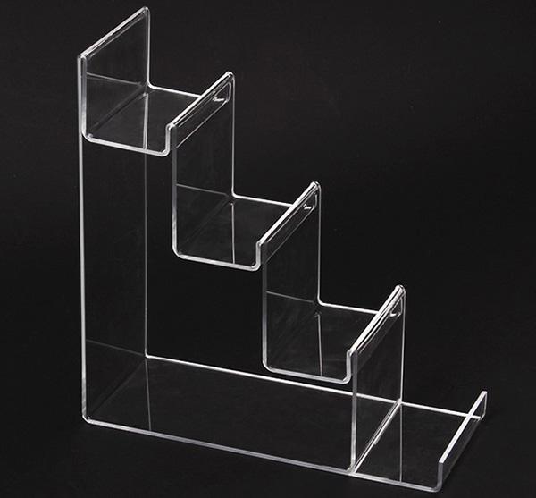 梯級型陳列架膠托架