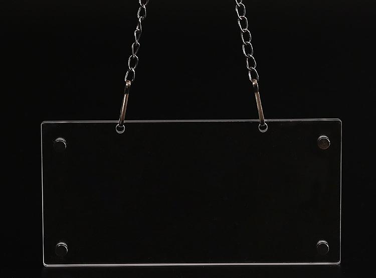鏈條廣告釘懸掛展示牌