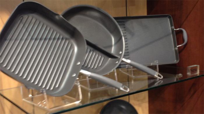 平底鍋透明L型支撐托架