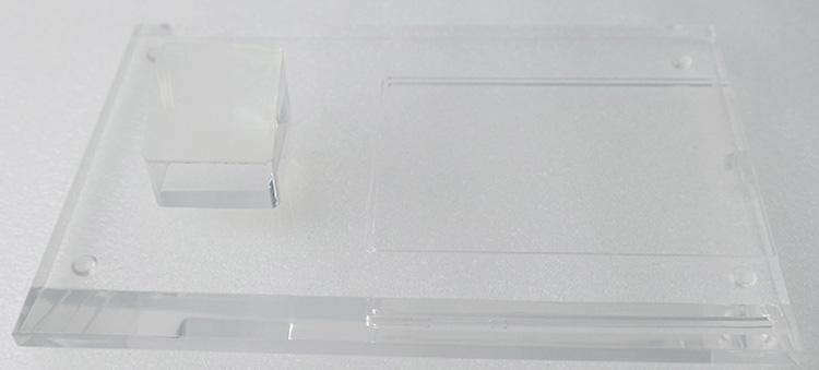 透明膠手機展示架