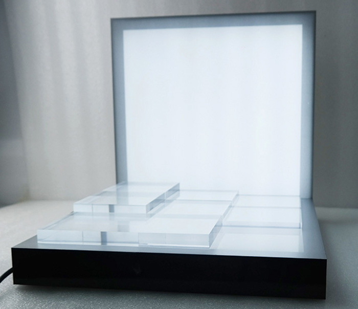 LED燈發光櫃枱產品展示架