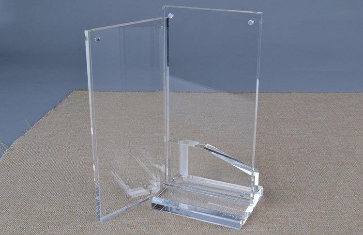 透明水晶T型磁石開合架