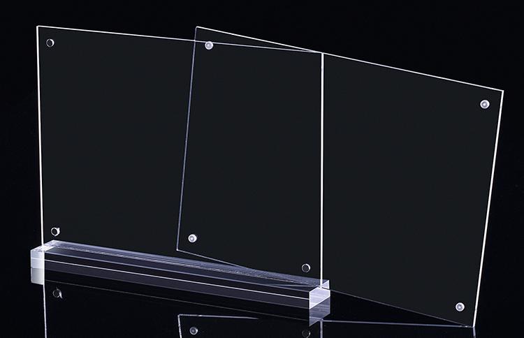 透明磁石開合攝紙T 型架