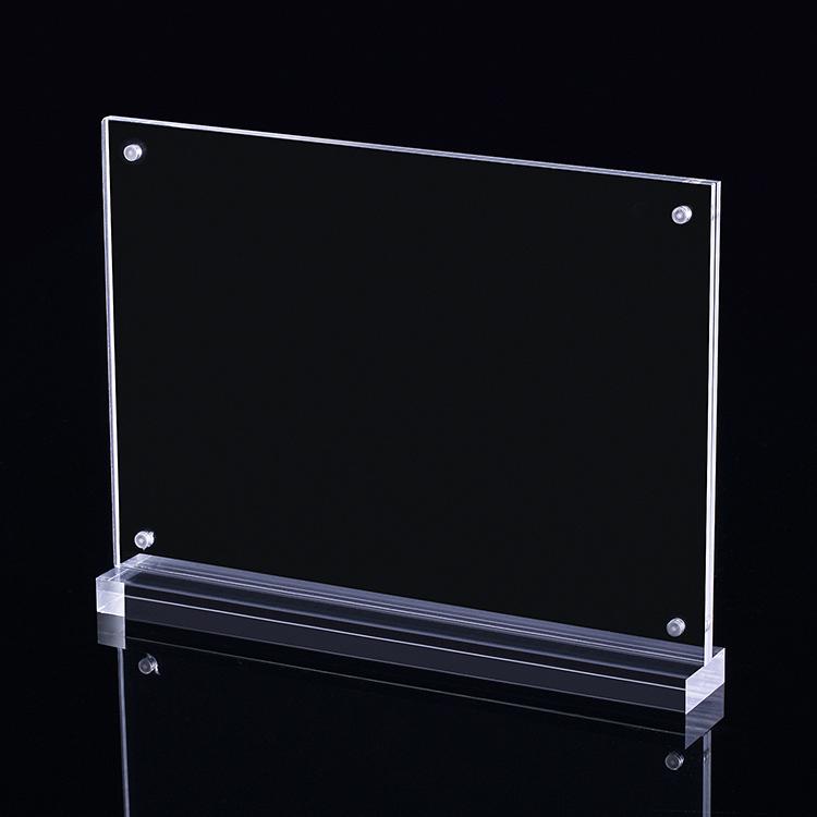 XH00251 透明磁石開合攝紙T型架