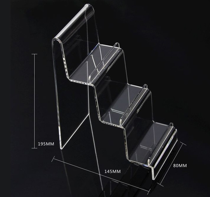 透明階梯分層托架