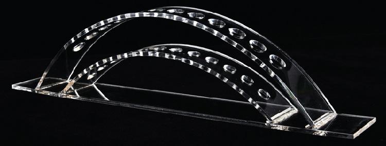 橋型雙層筆展架