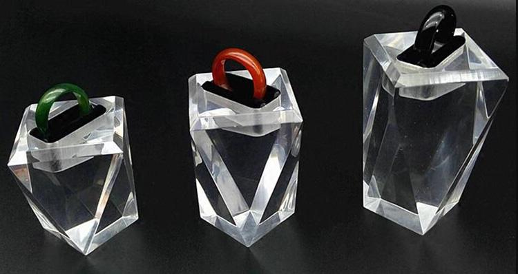 透明戒指展示座