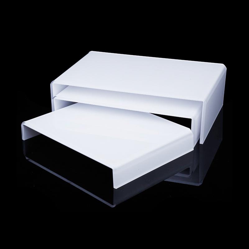 白色橋型膠架