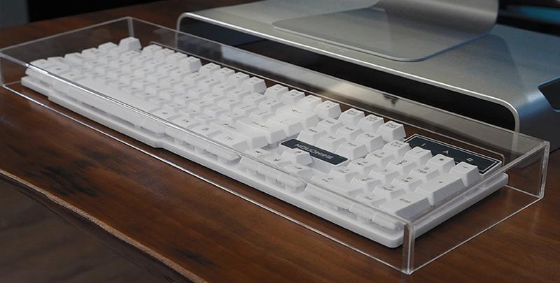 無底透明亞加力鍵盤罩