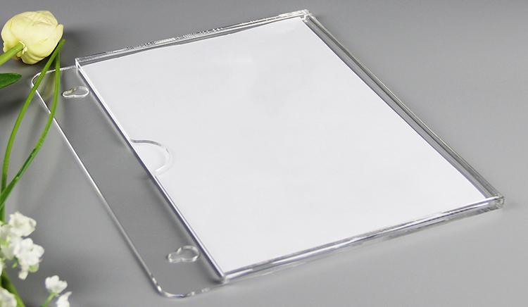 宣傳單張亞加力插紙盒