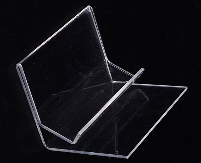透明L型亞加力膠托架