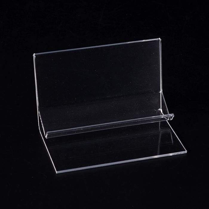 XH0200 透明L型亞加力膠托架