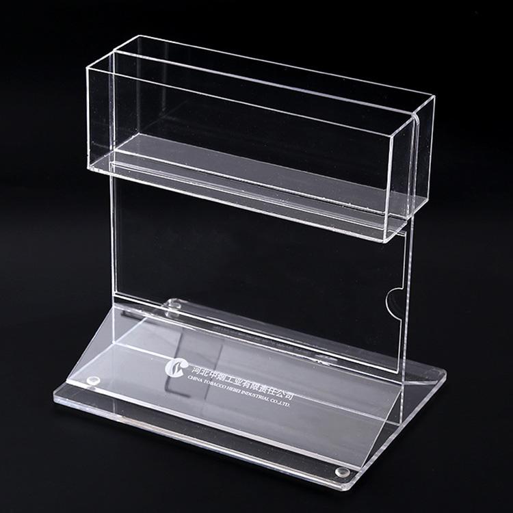 桌面可攝入紙產品展示架