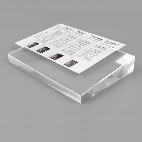攝入紙透明膠塊