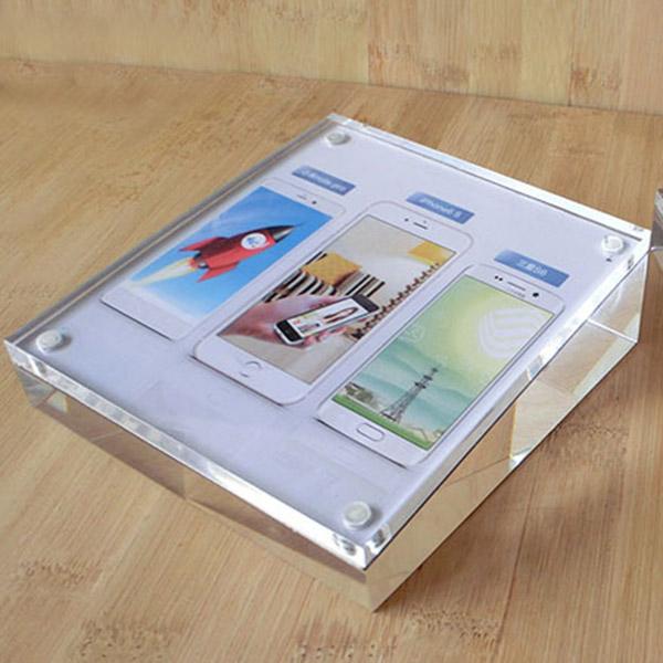 透明傾斜台膠塊